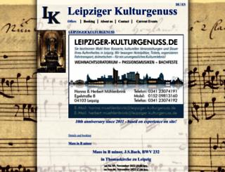 leipziger-kulturgenuss.de screenshot