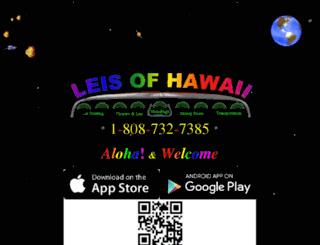 leisofhawaii.com screenshot