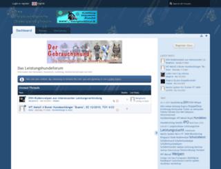 leistungshundeforum.de screenshot
