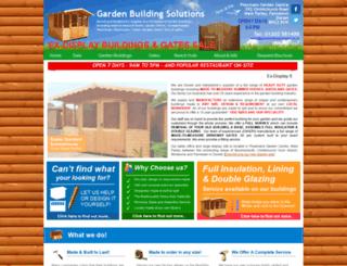 leisuregardenbuildings.co.uk screenshot