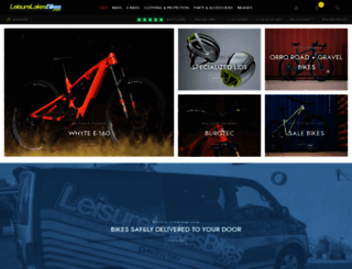 leisurelakesbikes.com screenshot