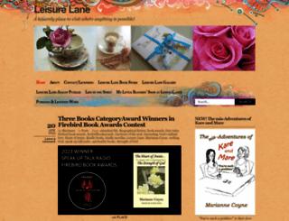 leisurelane.wordpress.com screenshot