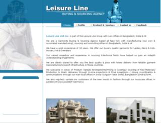 leisureline.in screenshot