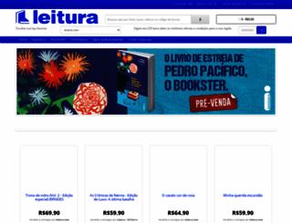 leitura.com.br screenshot