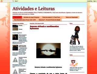 leituraseatividades.blogspot.com.br screenshot
