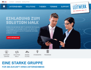 leitwerk.net screenshot