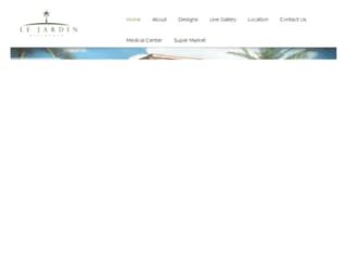 lejardin-eg.com screenshot