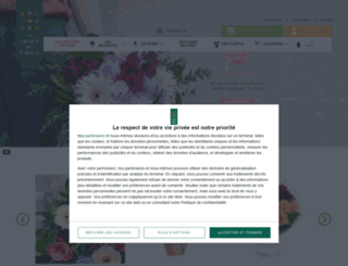 lejardindesfleurs.com screenshot