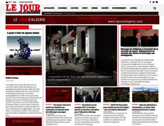 lejourdalgerie.com screenshot