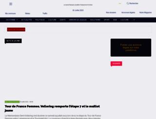 lejournaltoulousain.fr screenshot