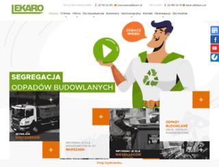lekaro.pl screenshot