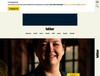 lekker.nl screenshot