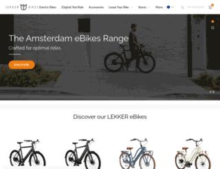 lekkerbikes.nl screenshot
