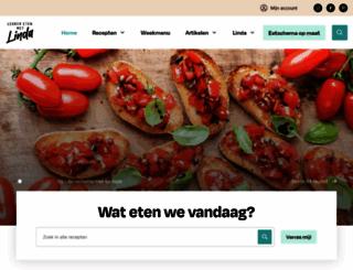 lekkeretenmetlinda.nl screenshot