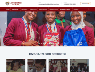 lekkibritishschool.org screenshot