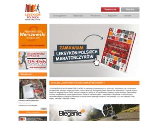 leksykonmaratonczykow.pl screenshot