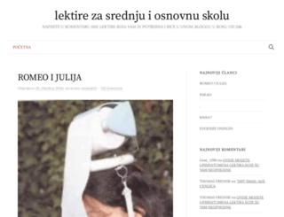 lektiree.blogger.ba screenshot