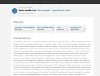 lektury.klp.pl screenshot