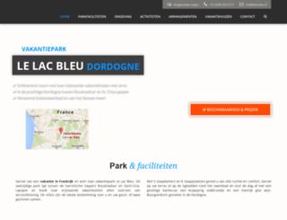 lelacbleu.nl screenshot