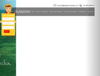 lelagoonholidays.com screenshot