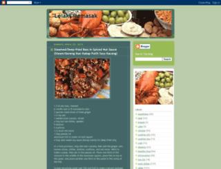 lelakimemasak1.blogspot.com screenshot