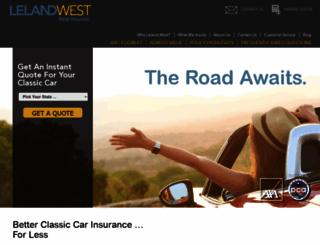 lelandwest.com screenshot