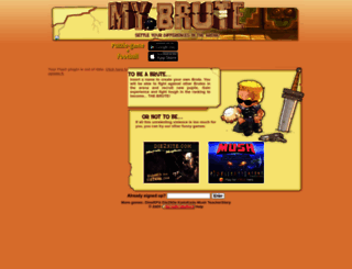 lele0086.mybrute.com screenshot