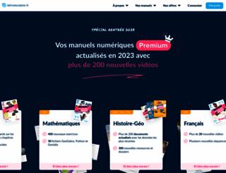 lelivrescolaire.fr screenshot