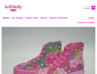 lelli-kelly-online.myshopify.com screenshot