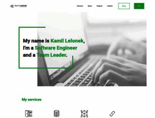 lelonek.me screenshot
