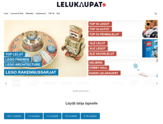 lelukaupat.fi screenshot