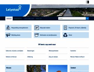 lelystad.nl screenshot