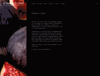 lemacarongrec.com screenshot