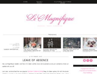 lemagnifiqueblog.com screenshot