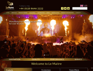 lemaitre.co.uk screenshot