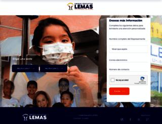 lemas.edu.ec screenshot