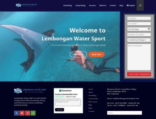 lembonganwatersport.com screenshot