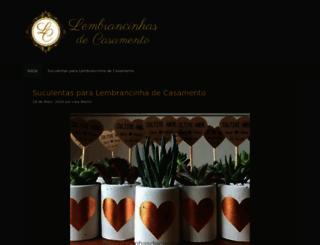 lembrancinhasdecasamento.blog.br screenshot