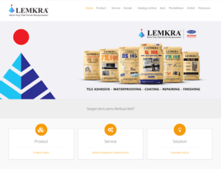 lemkra.co.id screenshot