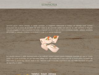 lemnora.ro screenshot