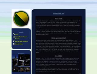 lemon-lime.org screenshot