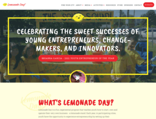 lemonadeday.org screenshot