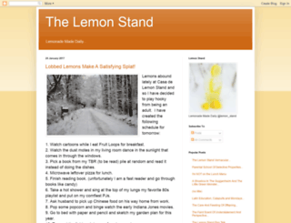 lemonademadedaily.blogspot.com screenshot