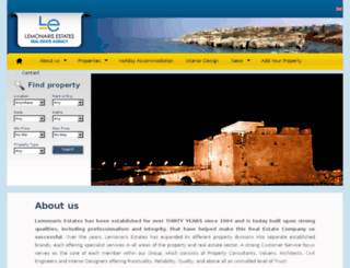 lemonaris-estates.com screenshot