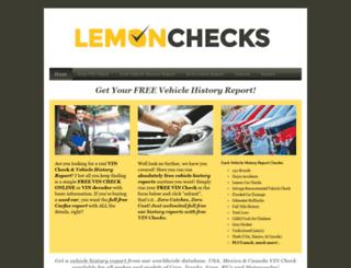 lemonchecks.com screenshot