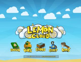 lemoncloud.org screenshot