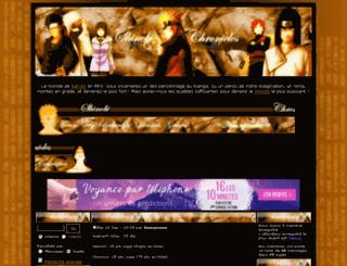 lemondedesshinobis.forumdefan.com screenshot