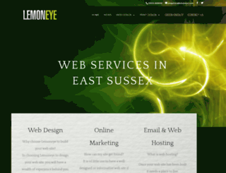 lemoneye.co.uk screenshot