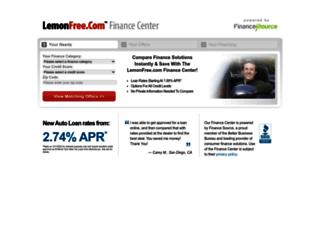 lemonfree.financesource.com screenshot