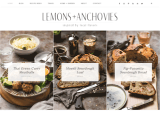 lemonsandanchovies.com screenshot